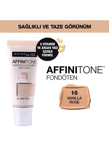 Maybelline Affinitone  Fondöten - 16 Vanilla Rose Bej